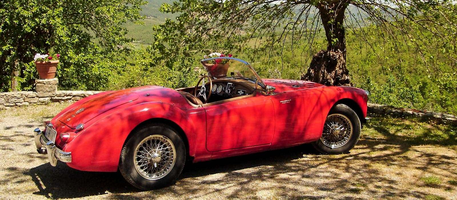 Italy vintage car private tours